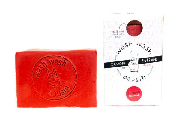 Savon solide patchouli_2 - Wash Wash Cousin - Cométiques solides