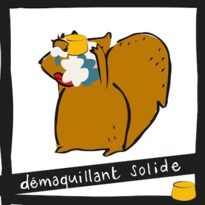 Démaquillant solide