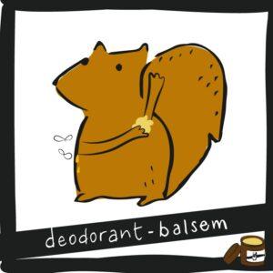 Deodorant-balsem