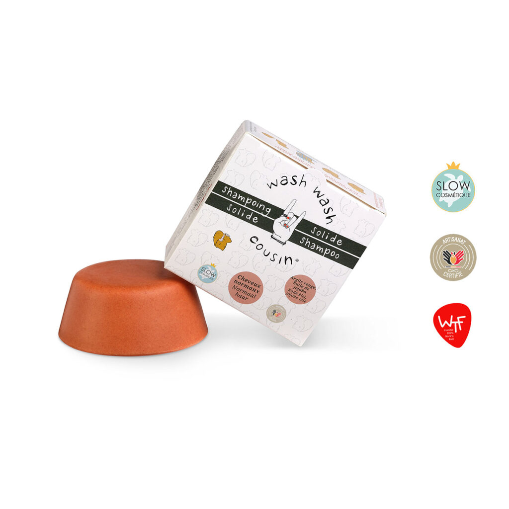 Shampoing solide normaux produit boite