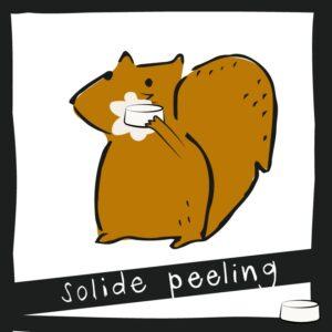 Solide peeling